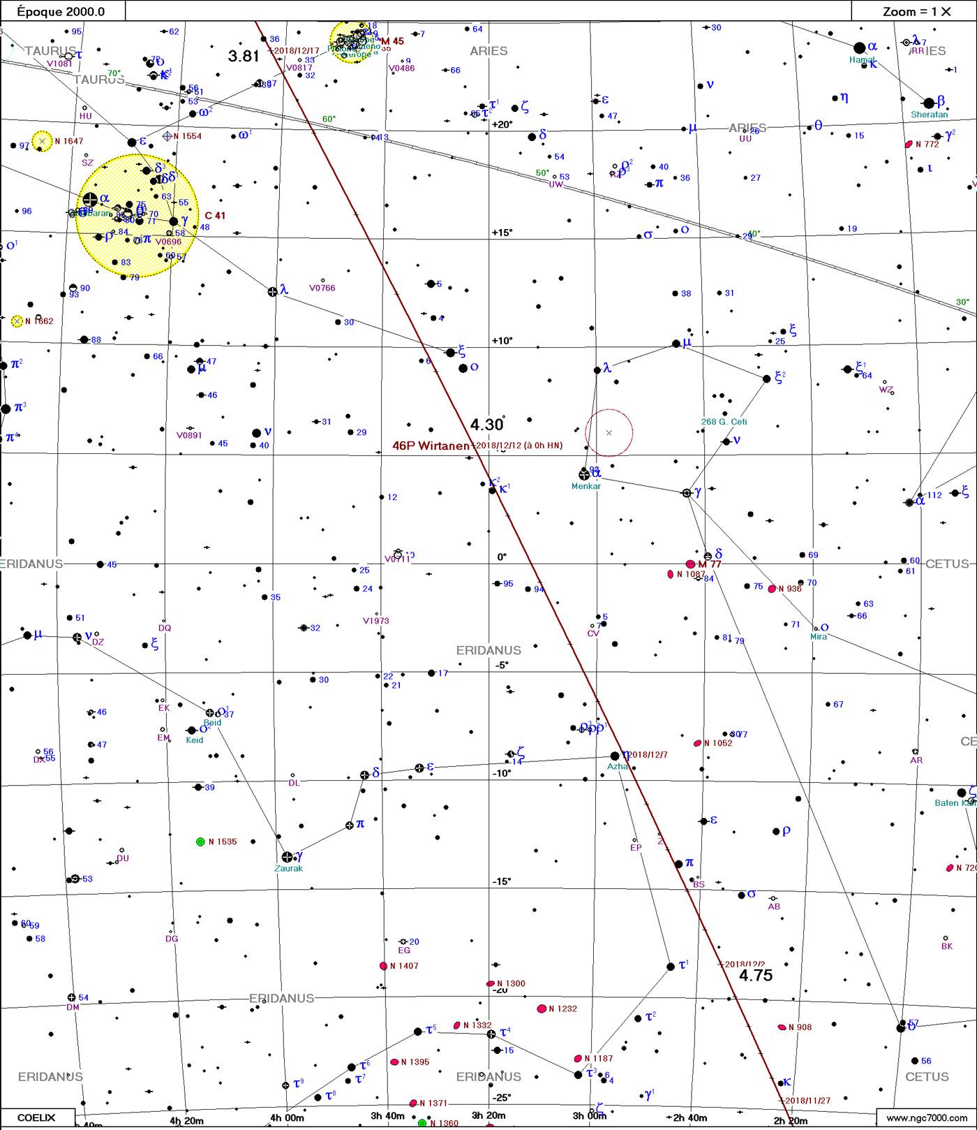 Comète 46P/Wirtanen Wirtanen12_1