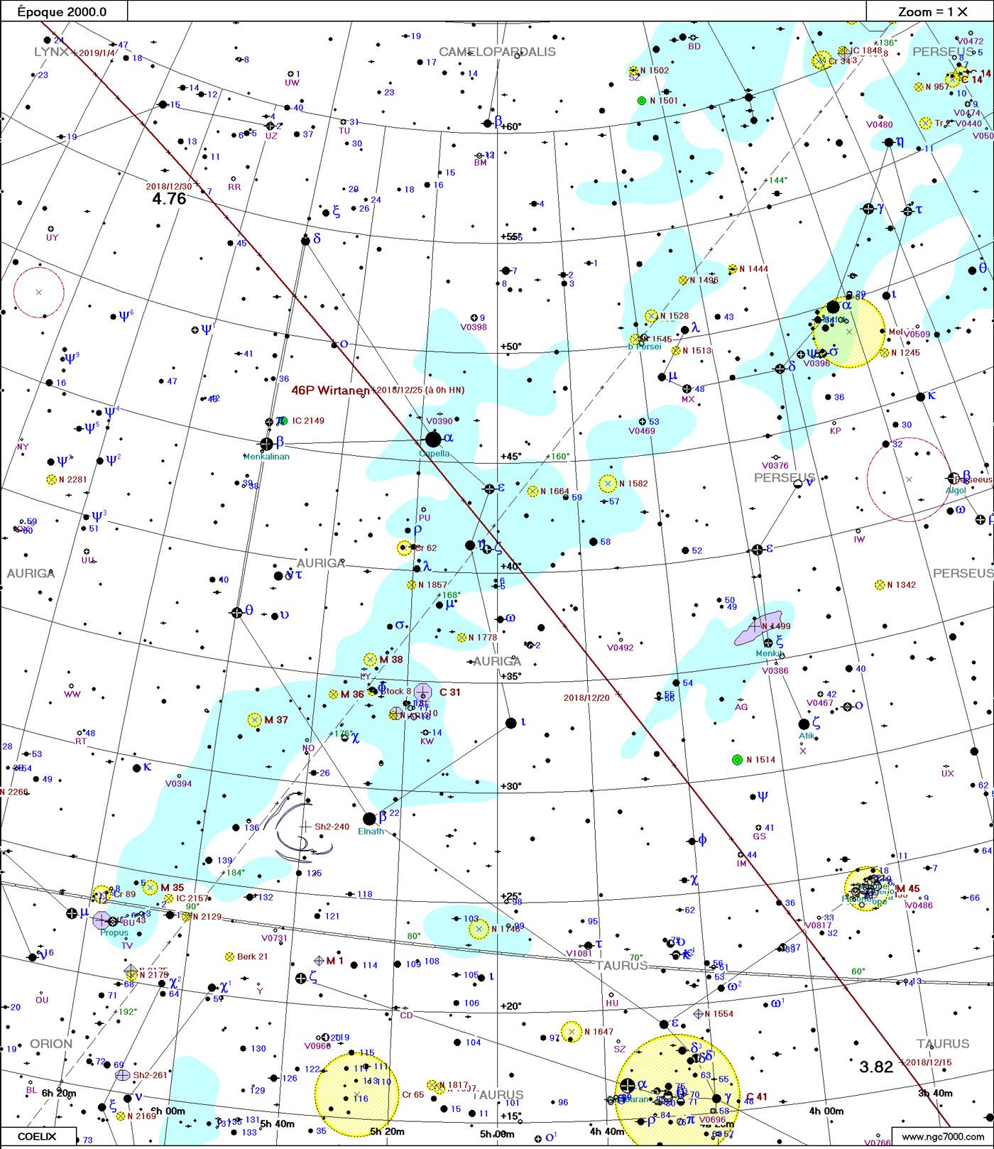 Comète 46P/Wirtanen Wirtanen12_2